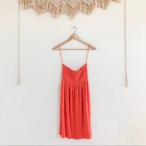 Juicy Couture Terrycloth Neon Orange Tube Dress
